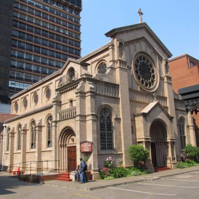 Gauteng, Johannesburg, BRAAMFONTEIN, Holy Trinity Catholic Church