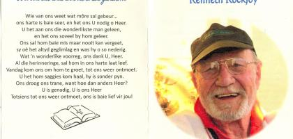 KOCKJOY, Kenneth 1925-2012