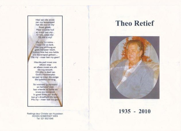 RETIEF, William Theodore 1935-2010_01