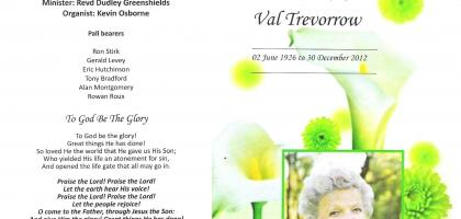 TREVORROW-Surnames-Vanne